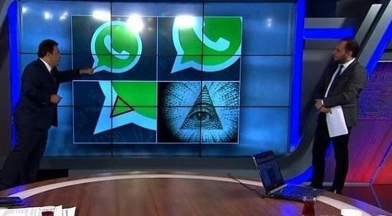 Ящик докапался до истины Телевидение, Whatsapp, Разоблачение, Маразм, Масоны
