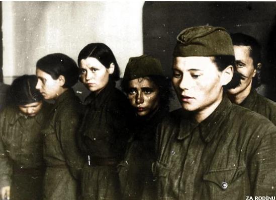 """""""Не уберегли"""". Советские женщины в плену Вермахта. военные истории Великая Отечественная война, Вторая мировая война, Женщины на войне, Видео, Длиннопост"""
