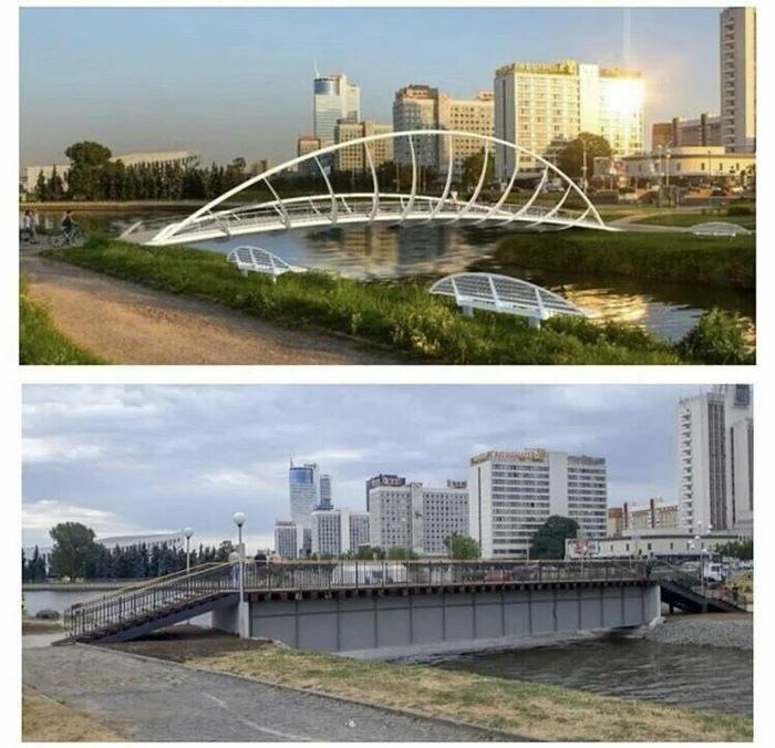 Хотели как лучше, а получилось как всегда... Минск, Мост, Евроигры, Ожидание и реальность