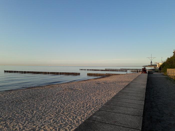 Спокойствие безмятежности Вечер, Море, Пляж