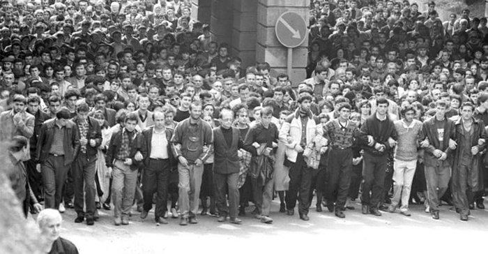 Что случилось с Грузией после распада СССР Грузия, Митинг, СССР, Россия, Экономика, Культура, Политика