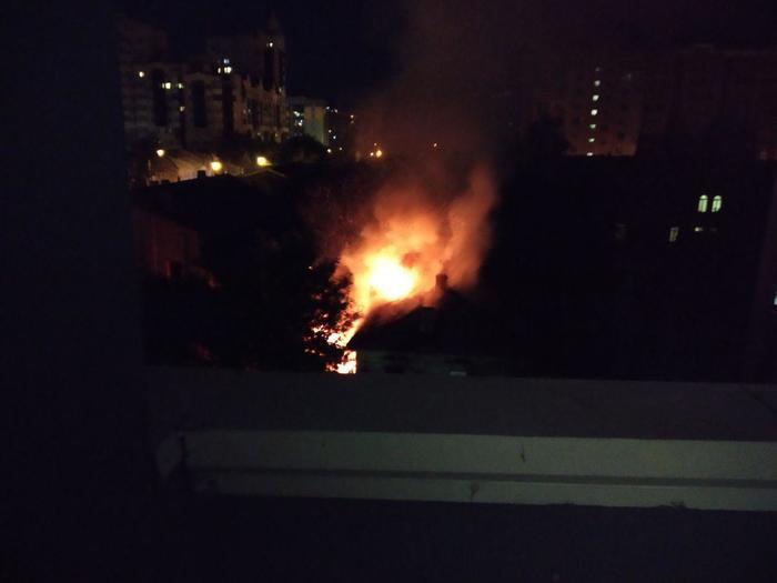 Вышел покурить на балкон Самара, Вилоновская, Пожар, Видео, Негатив