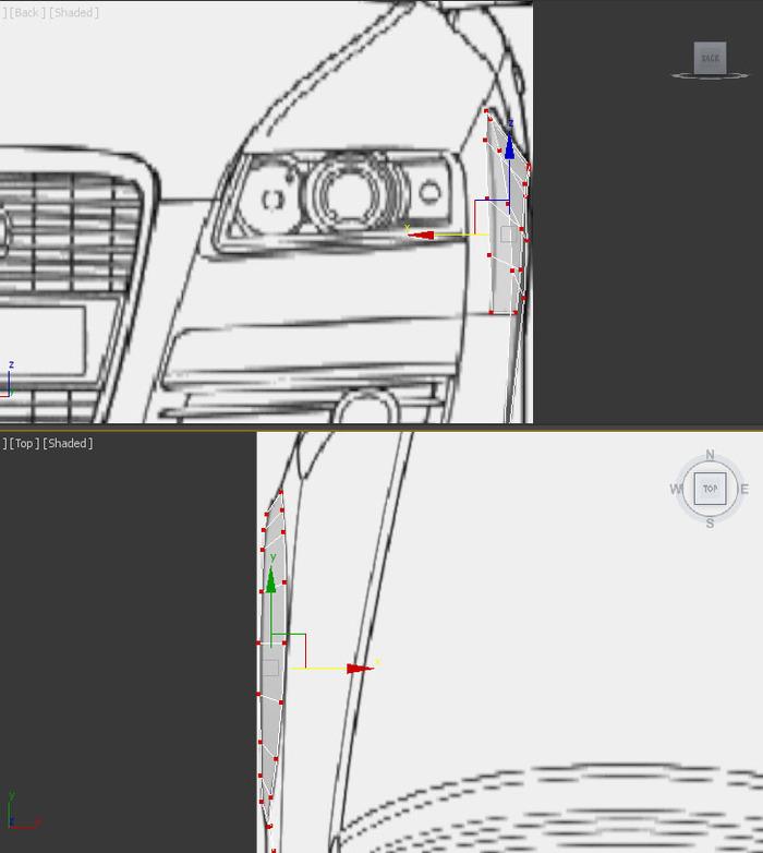 Моделирование автомобиля в 3ds Max. Часть 1. 3D моделирование, 3DS max, Автомоделизм, Audi, Длиннопост