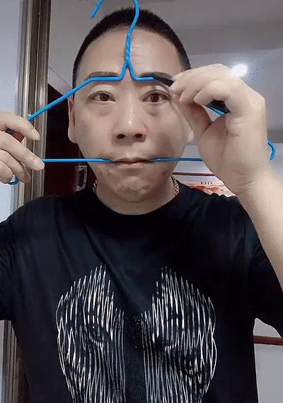 Как рисовать одинаковые брови каждый раз Брови, Вешалка, Азиаты, Макияж, Мужчина, Лайфхак, Гифка