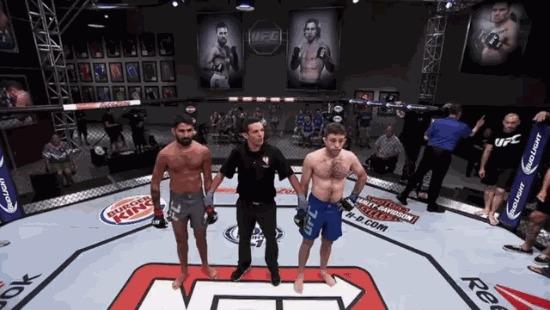 Ну... как-то так! UFC, MMA, Неуверенность, Победа, Гифка, Юмор