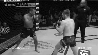 Канарейка UFC, Болевой прием, Единоборства, Спорт, MMA, Боевые искусства, Гифка
