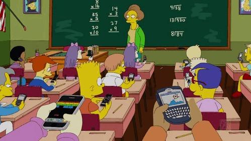 Симпсоны на каждый день [1_Сентября] Симпсоны, Каждый день, Школа, Знания, Гифка, Длиннопост