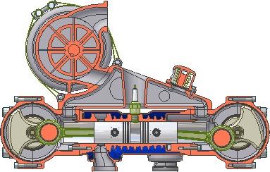 ДВС и его виды. Часть 6. Дизель ДВС, Двигатель, Мотор, Длиннопост, Гифка