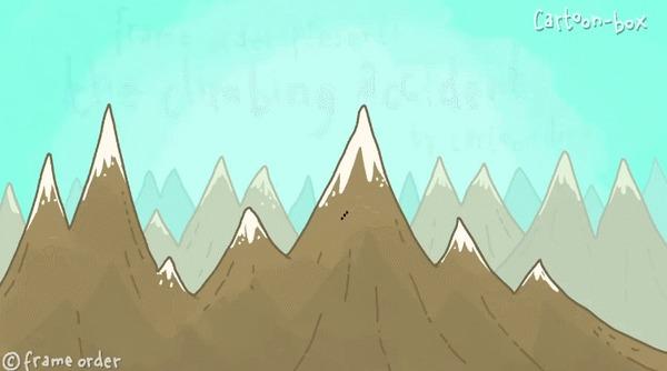 Несчастный случай при восхождении на гору