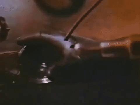 Фтор в гифках Химия, Лига химиков, Гифка, Эксперимент, Химические элементы, Фтор, Длиннопост