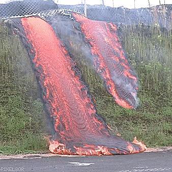 Потоки лавы
