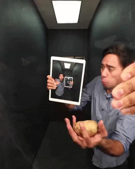 Лови картошку!
