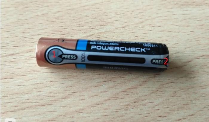 Как работает индикатор заряда Powercheck на батарейках Батарейка, Интересное, Как это работает, Длиннопост, Яндекс Дзен