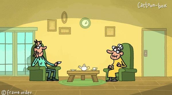 В гостях у одинокой бабушки