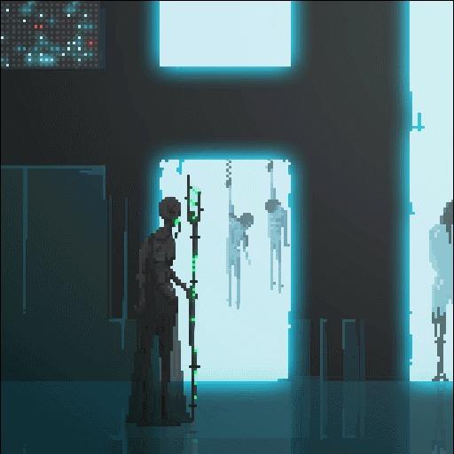 Crying Suns Crying Suns, Pixel Art, Научная фантастика, Арт, Гифка, Длиннопост
