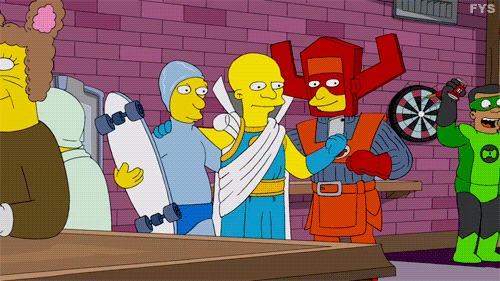 Симпсоны на каждый день [3_Ноября] Симпсоны, Каждый день, Косплей, Костюм, Комиксы, Гифка, Длиннопост