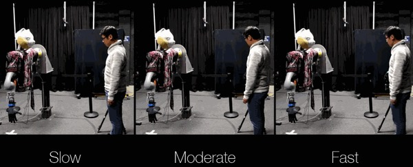 Исследователи выяснили: чем быстрее робот отбирает предмет у человека, тем меньше доверия человек испытывает по отношению к этому роботу Робот, Робототехника, Видео, Гифка, Walt Disney Company