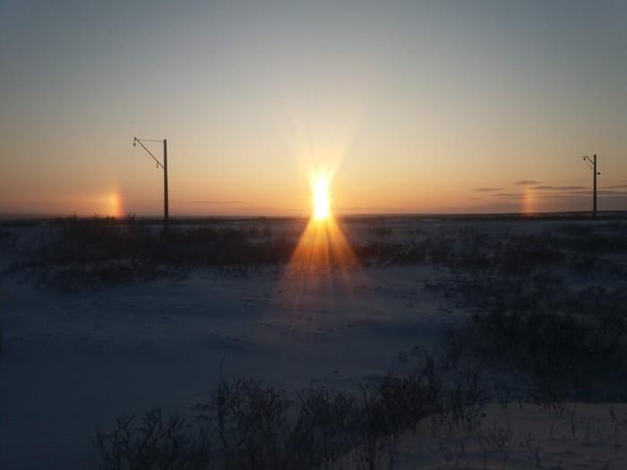 Готовимся к разлуке Норильск, Солнце, Будем ждать