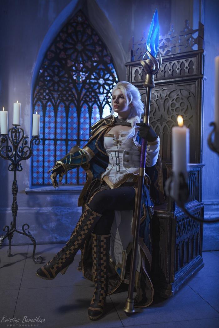 Jaina Proudmoore Косплей, Русский косплей, World of Warcraft, Warcraft, Warcraft 3, Джайна Праудмур, Видеоигра, Длиннопост