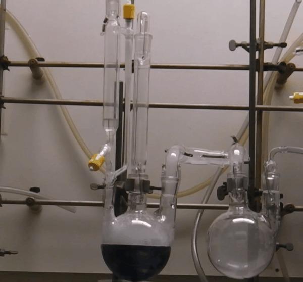 Органические реакции: восстановление по Бёрчу Химия, Органическая химия, Гифка, Длиннопост