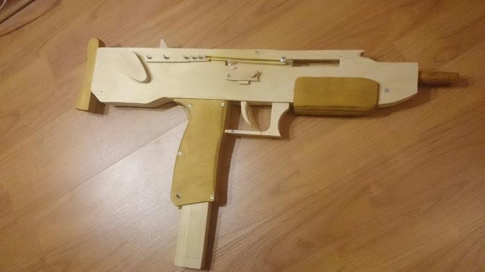 Сделал Оружие Резинкострел из дерева. Резинкострел, Рукоделие без процесса, Видео, Длиннопост