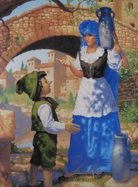 Почему у Мальвины были голубые волосы? Сказка, Мальвина, Девочка с голубыми волосами, Буратино, История, Интересное, Длиннопост