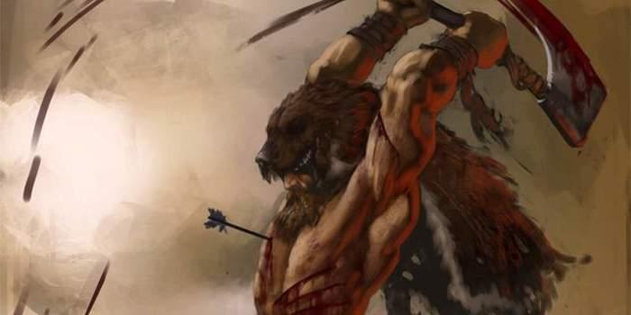 Фу, волк Одина, брось мухомор!: что употребляли берсерки? Длиннопост, История, Викинги, Война, Оружие, Мифы