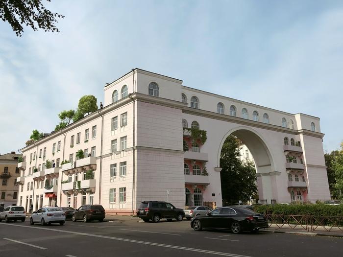 Make-up зданий Здание, Архитектура, Длиннопост