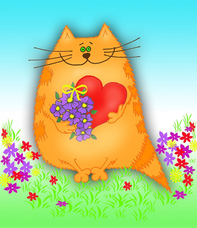 Всемирный день домашних животных. Спасибо, дорогие Пикабушники Кот, Собака, Помощь, Поздравление