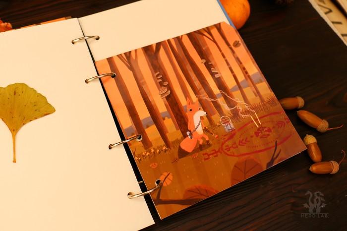 Блокнот с Little Misfortune Ручная работа, Блокнот, Game Art, Полимерная глина, Длиннопост