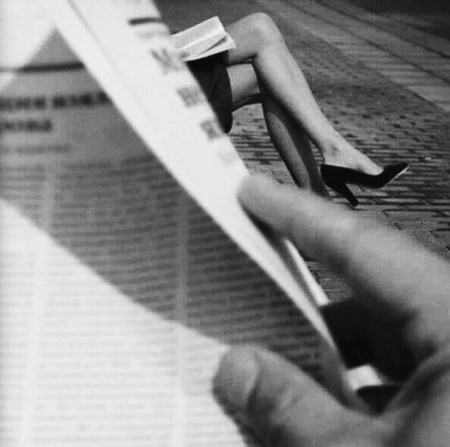 Читающий газету