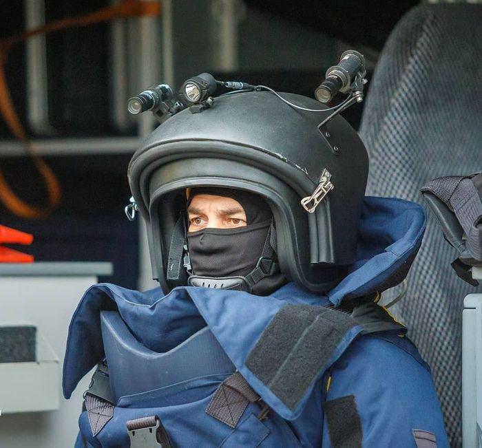 """Шлем взрывозащитного комплекса """"Доспехи"""" Сапер, Шлем"""