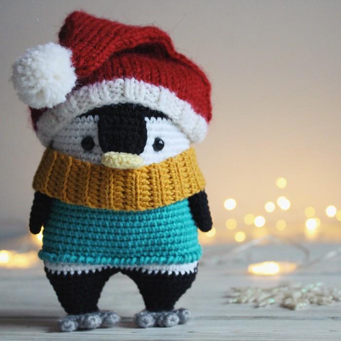 Пингвин Рукоделие без процесса, Своими руками, Амигуруми, Вязание крючком, Пингвины, Милота, Няша, Новый Год