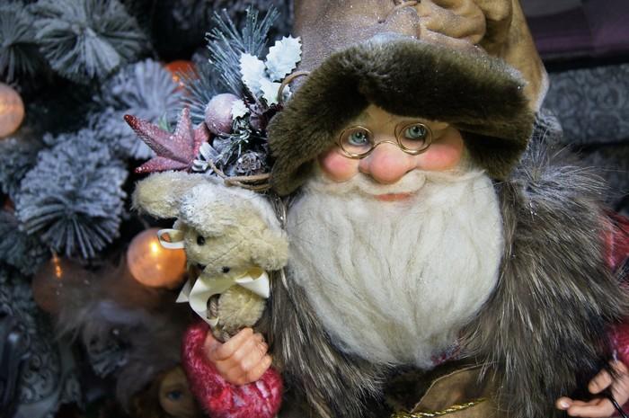 Дед мороз Сухое валяние, Дед Мороз, Своими руками, Рукоделие без процесса, Новый Год, Декоративное искусство, Длиннопост