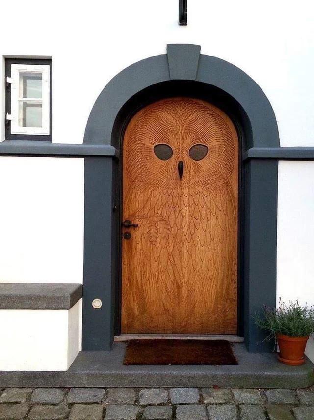 Дверь-сова