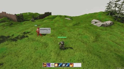 Another realm v0.07 Gamedev, Игры, RPG, Unity3d, Видео, Гифка, Длиннопост
