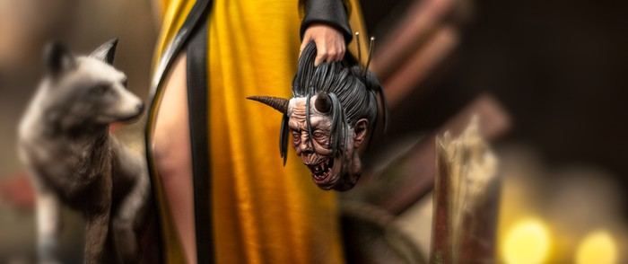 CD Projekt выпустит фигурку Цири в японской стилистике Ведьмак, Геральт из Ривии, Цири, Фигурка, CD Projekt, Длиннопост
