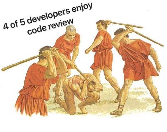 4 разработчика из 5 любят ревизию кода
