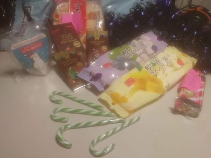 Обмен подарками от Миррочки, Находка -> Москва Обмен подарками, Отчет по обмену подарками, Новогодний обмен подарками, Длиннопост