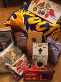 Подарок от Деда Мороза. Из России в Норвегию Обмен подарками, Тайный Санта, Отчет по обмену подарками, Новый Год