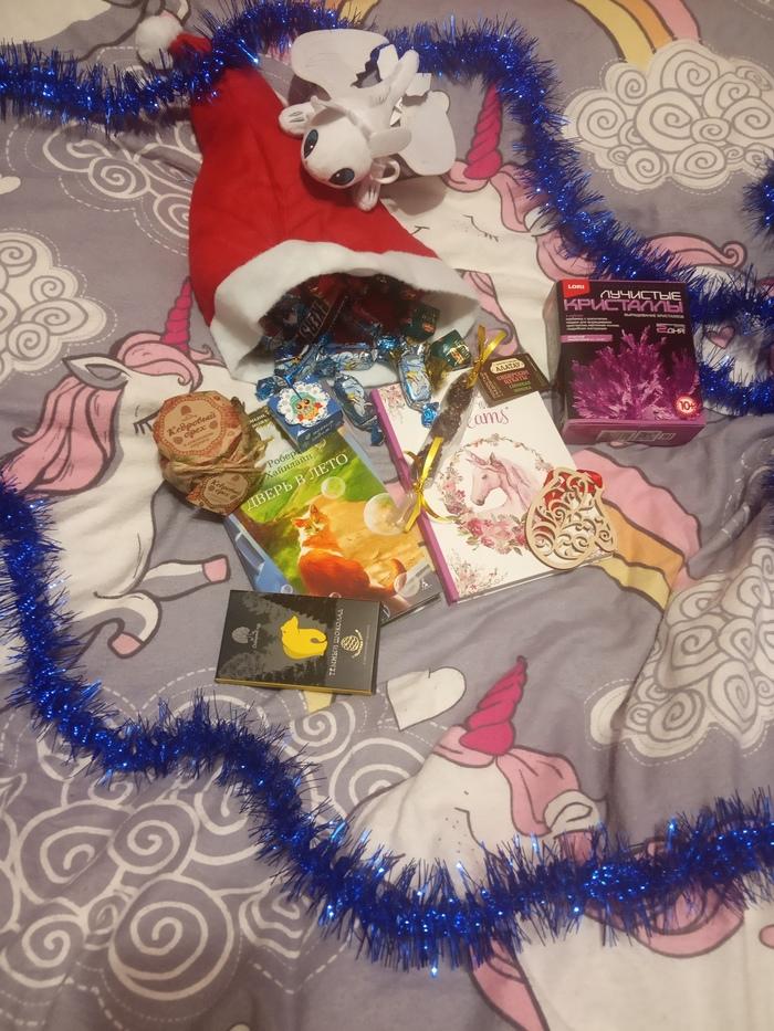 Подарок Дедушки Мороза из Новосибирска Отчет по обмену подарками, Новогодний обмен подарками, Новый Год, Длиннопост