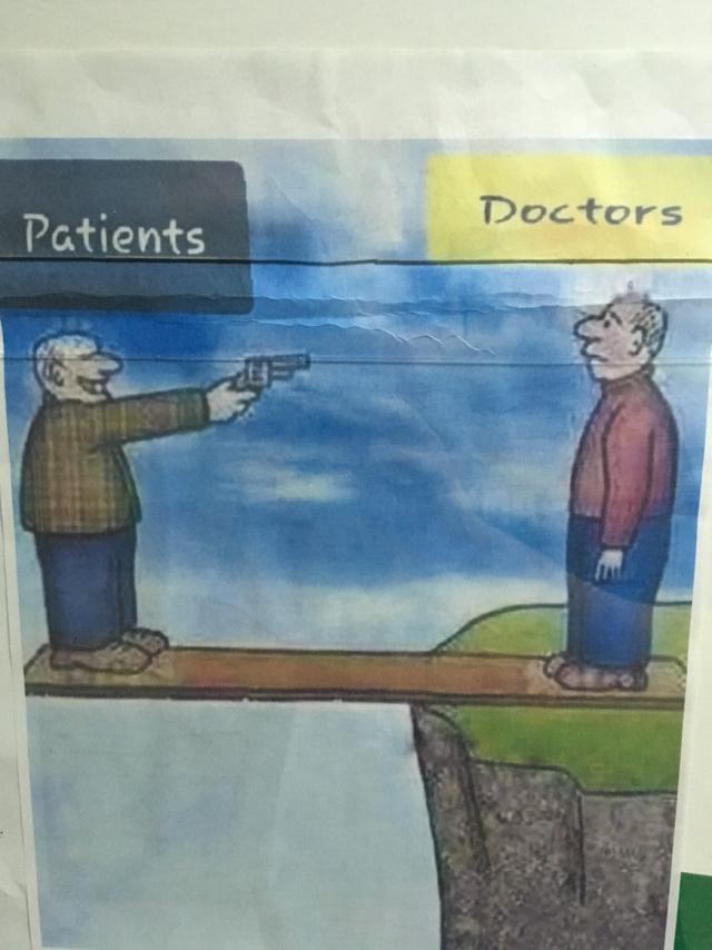 Правдивая картинка Врачи, Врач и пациент, Карикатура