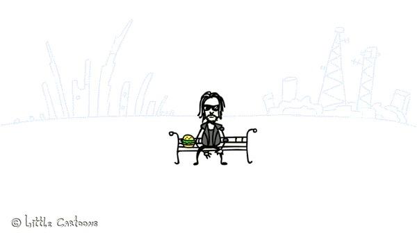 Киану Ривз и Геральд (анимашка)