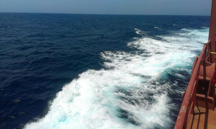 Работа в море. Африка, продолжение