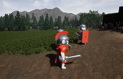 Некоторые новости моей разработки Unreal Engine 4, Gamedev, Гифка, Длиннопост