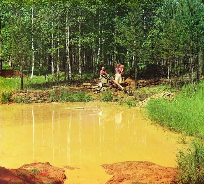 Цветные фотографии России начала XX века
