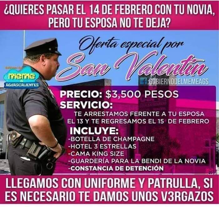Из Мексики с любовью Мексика, Мемы, 14 февраля