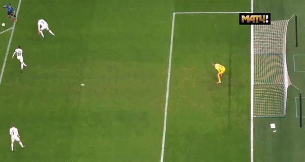 Забавный гол Лукаку во вчерашнем матче Интера с Лудогорцем