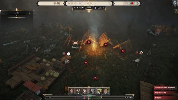 Night is coming - славянский симулятор поселения.Итак,спустя 2.5 года разработки Gamedev, Компьютерные игры, Стратегия, Steam, ПК, Симуляция, Гифка, Видео, Длиннопост, ЛучшеДома, Игры