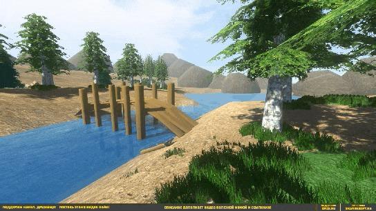 И ещё немного про сбор ресурсов Gamedev, Программирование, 3D моделирование, Гифка, Видео